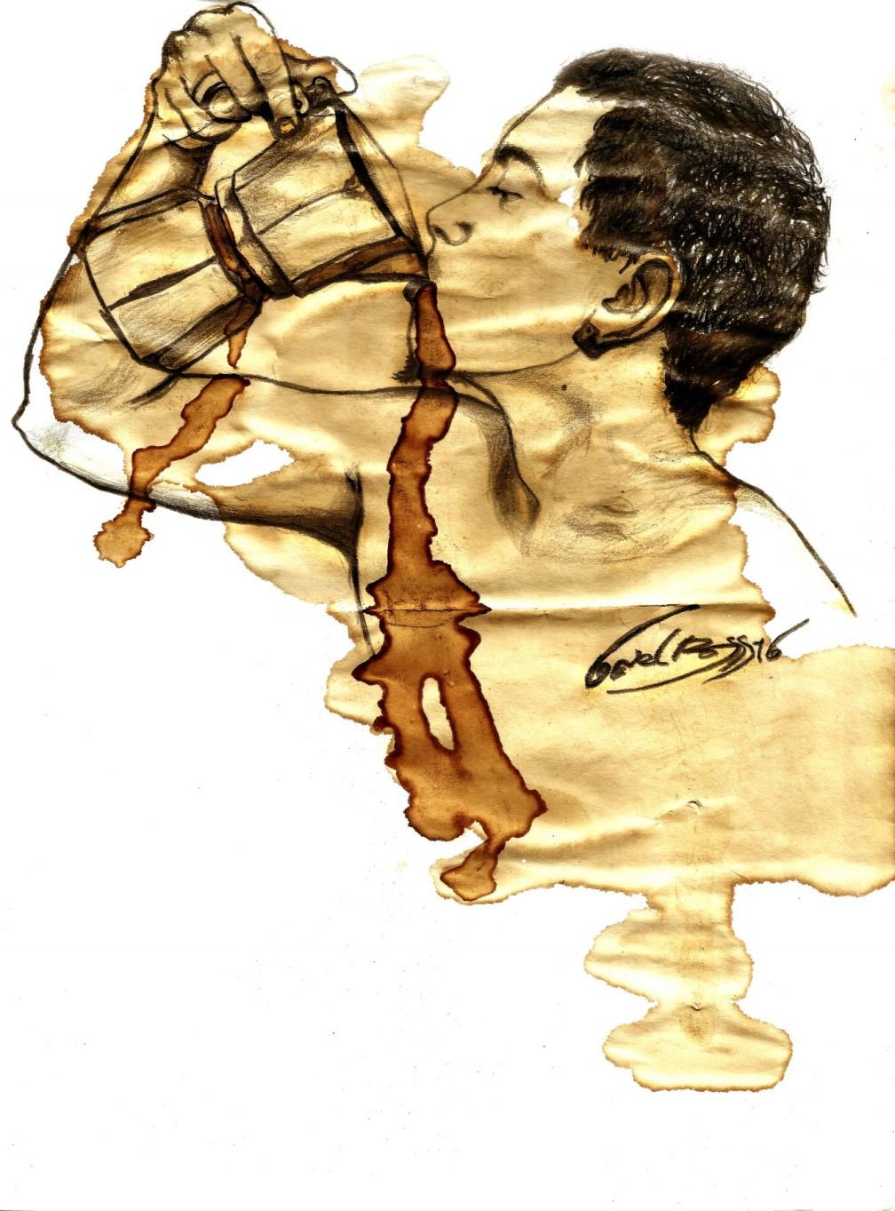 Las huellas que deja el café al levantarme - Daniel Ross Dieguez Guantánamo - Cuba (3)
